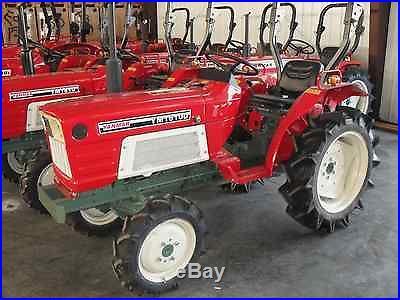 Yanmar 1610D 4 wheel drive tractor with warranty