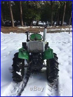 Yanmar 4x4 diesel tractor