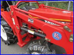 Yanmar FX235D Ag Tractor 3pt Hitch Loader Bucket Diesel Loader Backhoe