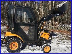 Yanmar SC2400 24HP Diesel + Loader + Cab Only 113Hrs LK Deere Kubota