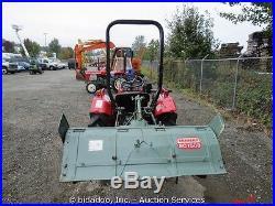 Yanmar YM1610D 4X4 Tractor 3pt Hitch Ag Diesel 48 Tiller Attachment Manual